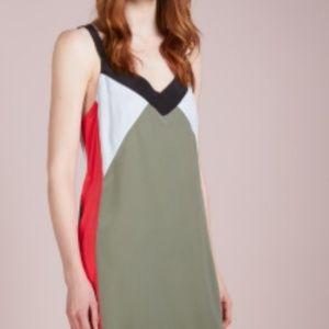 Equipment ROBBI SLIP DRESS - Day dress - olive
